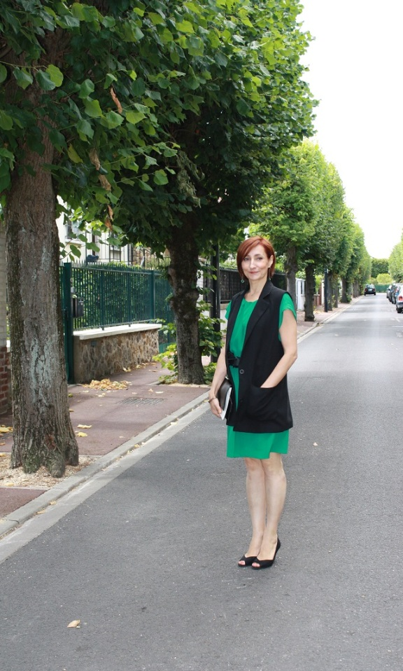 robe verte_gielt noir