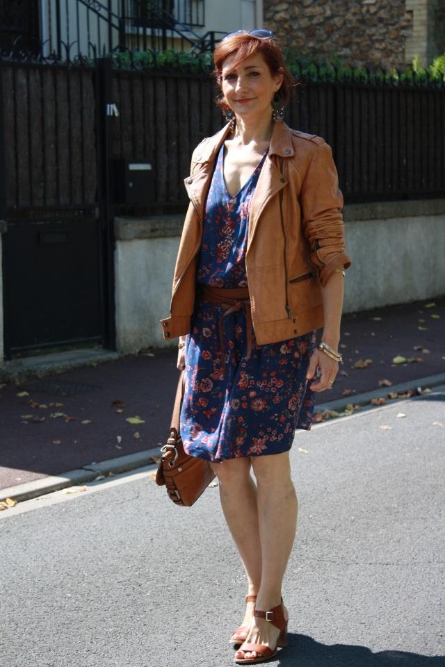 robe bohème et veste 3