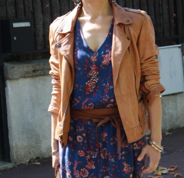 robe bohème et veste 5